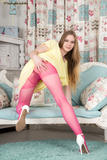 Alice Wonder in Hairy teary tights! [Zip]